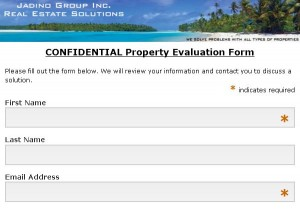 Confidential Property Evaluation Form  http://eepurl.com/q7xzj